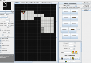 Screenshot of Dungeonographer in use.